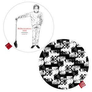 〈伊藤 潤二〉押切異談-首幻想- ラウンドクッション(両面プリント)