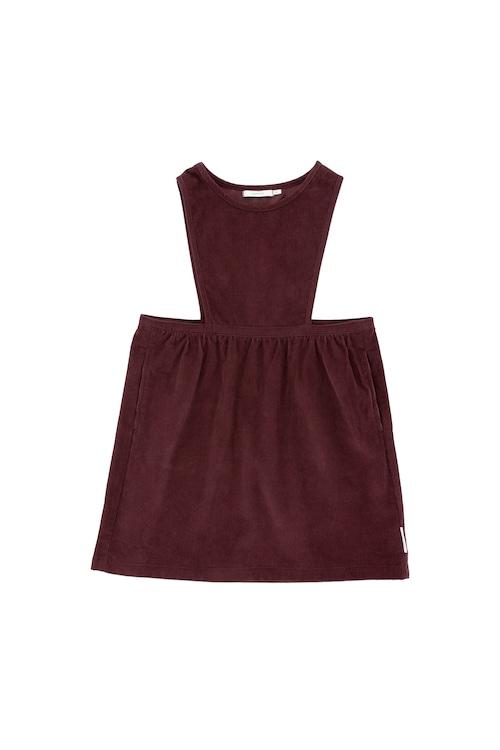 《tinycottons 2018AW》corduroy sl dress / plum