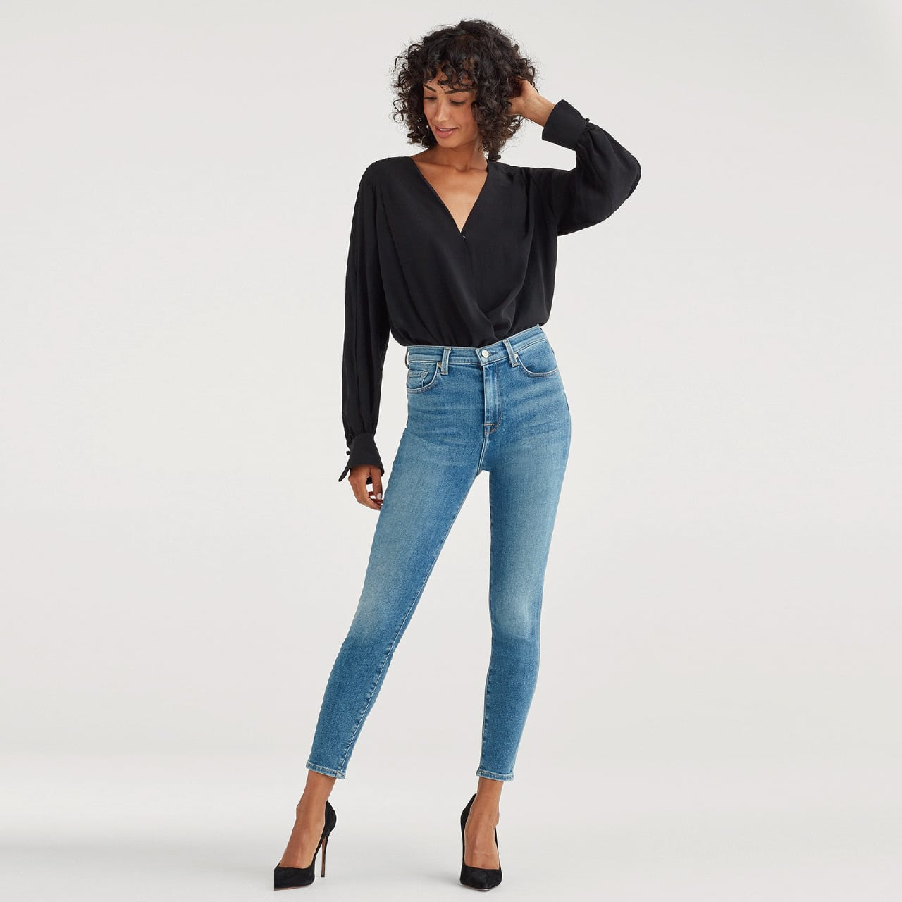 High Waist Ankle Skinny - LST