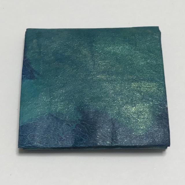 黒谷和紙のコインケース【深海】