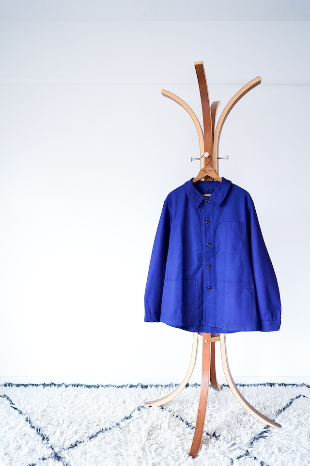 "【1940-50s, Deadstock】""French SOE"" French Work JKT, Cotton Twill / v584"