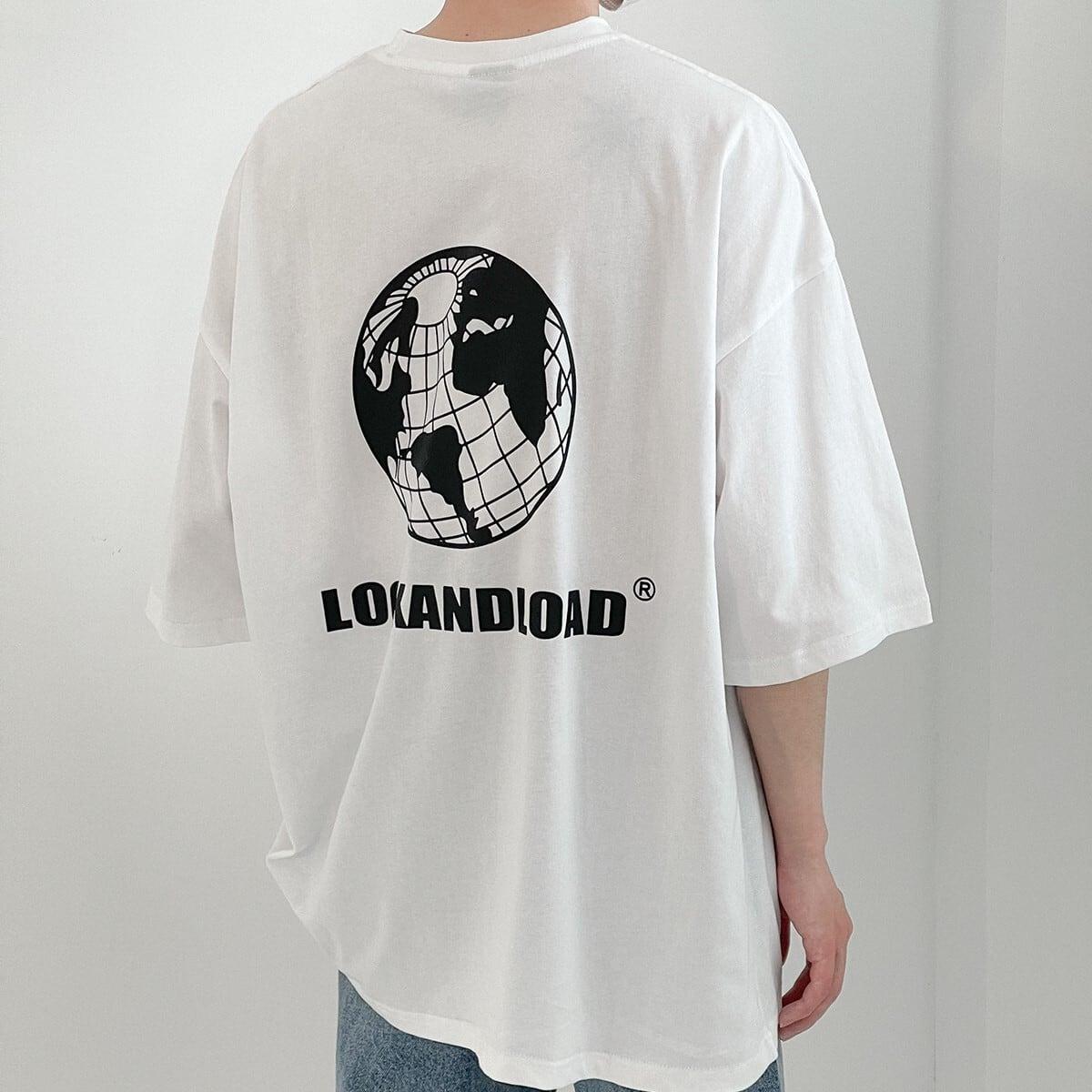 アースプリントTシャツ YH6478