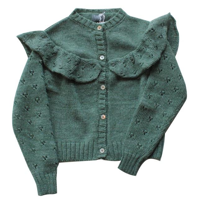 tocotovintage Cardigan(Green)