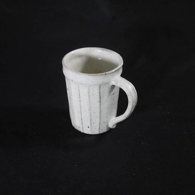 【薬師寺和夫】トールカップ しのぎ 白