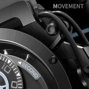 【MAZZUCATO マッツカート】RIM-03(グレー×サックスブルー)/国内正規品 腕時計