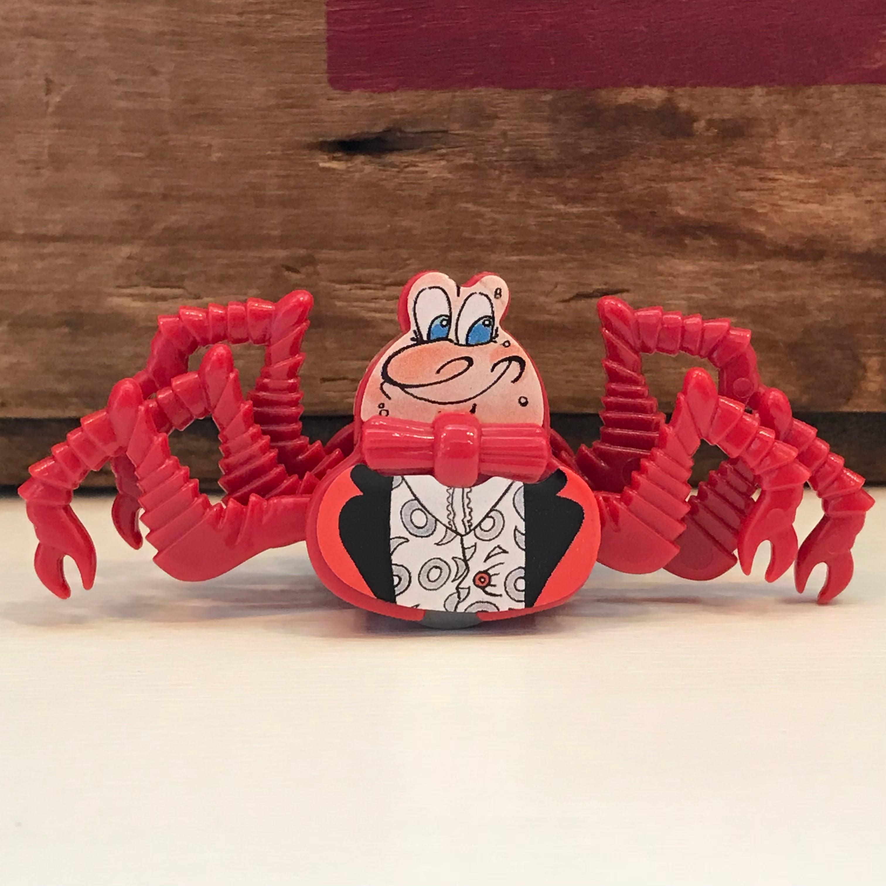 キンダーサプライズ 奇妙な生物 カニ (赤) フィギュア