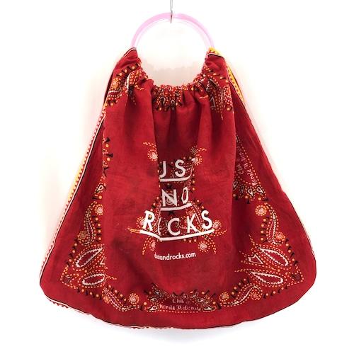 【remade】Bandana Ring Bag