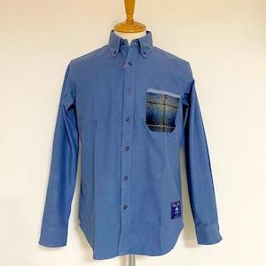 Thermolite® Shaggy MOON Pocket BD Shirts Light Blue