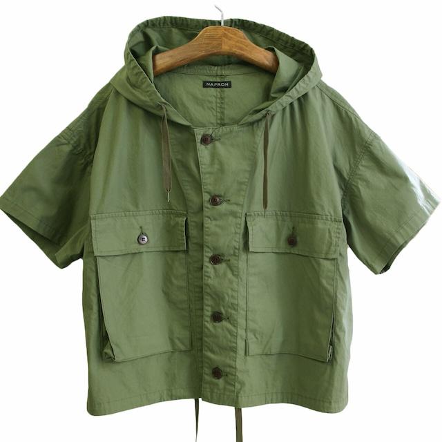 NAPRON  ナプロン  USMC HOODY SHIRTS  USMCジャケットをモチーフとしたシャツ NP-JK11