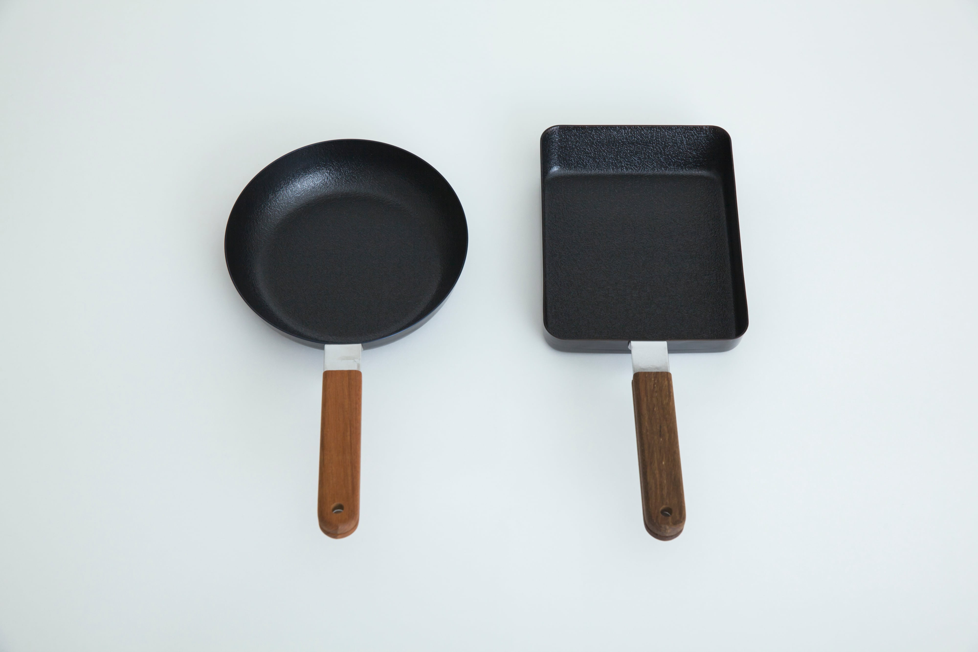 鉄の玉子焼器 丸