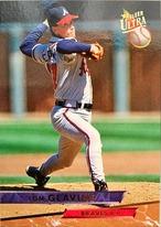 MLBカード 93FLEER Tom Glavine #006 BRAVES