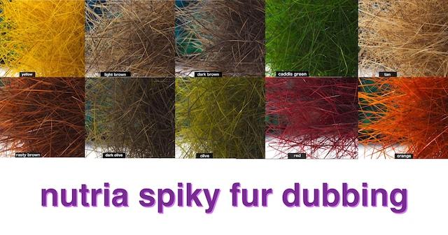 Nutria Spiky Fur dubbing