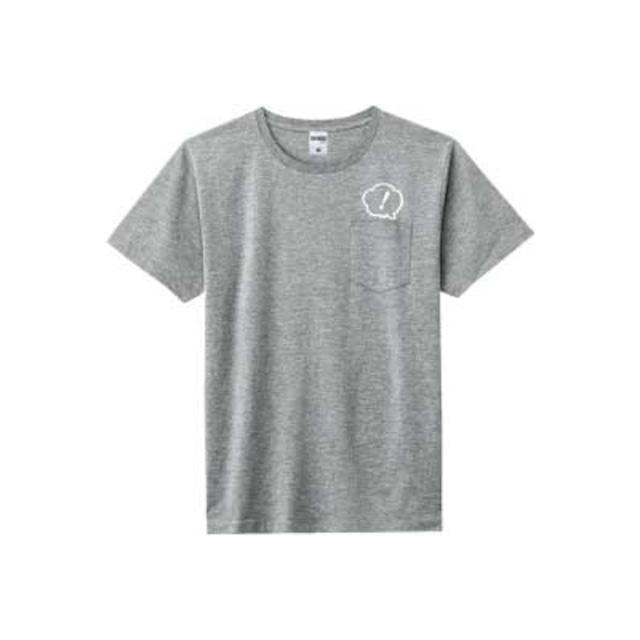 あ、安部礼司 ポケット付プレミアムデザインTシャツ ヘザーグレー