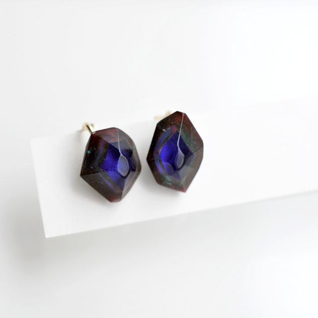 Colored gemstone イヤリング