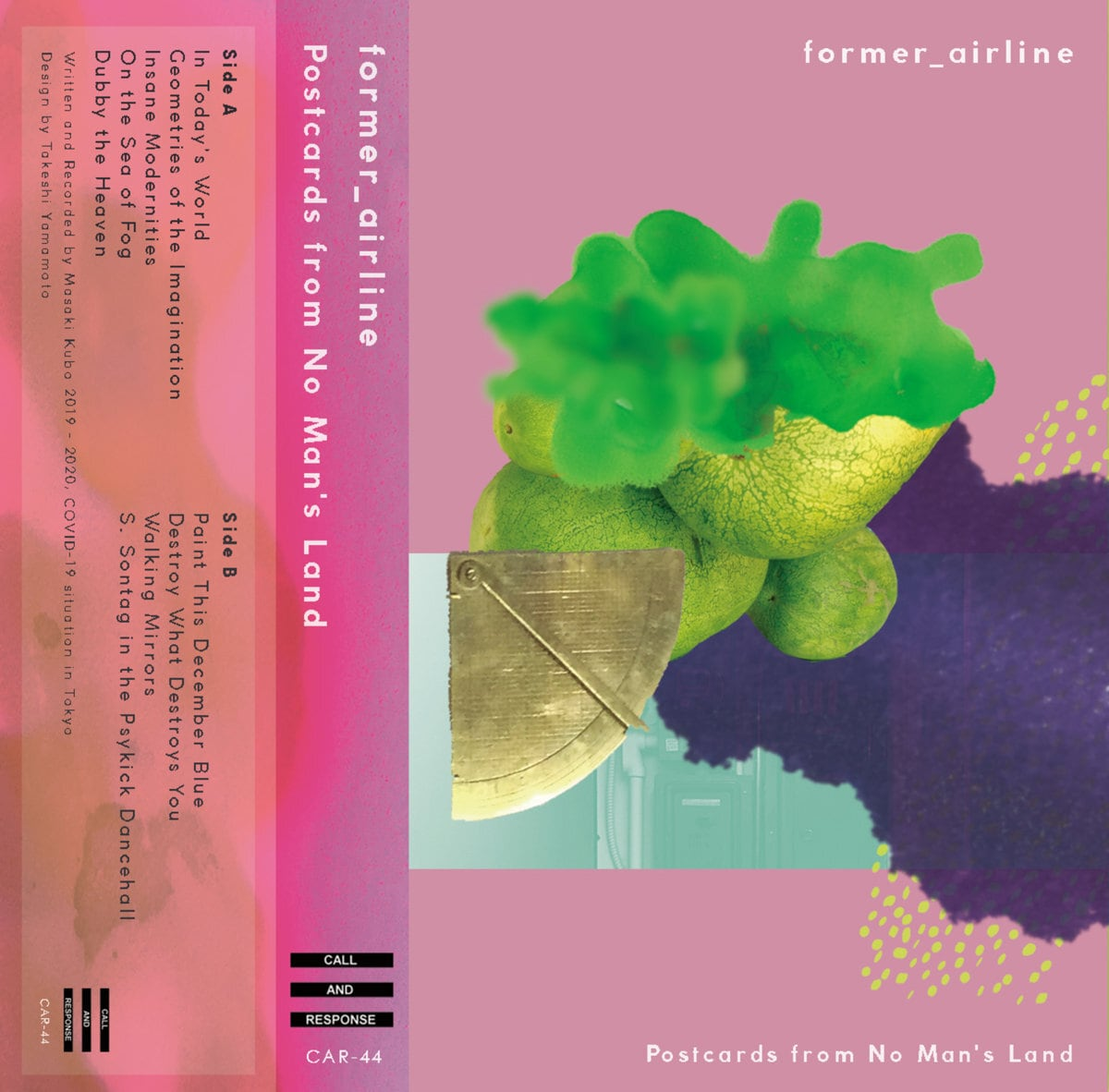 former_airline - Postcards from No Man's Land (Cassette Tape)