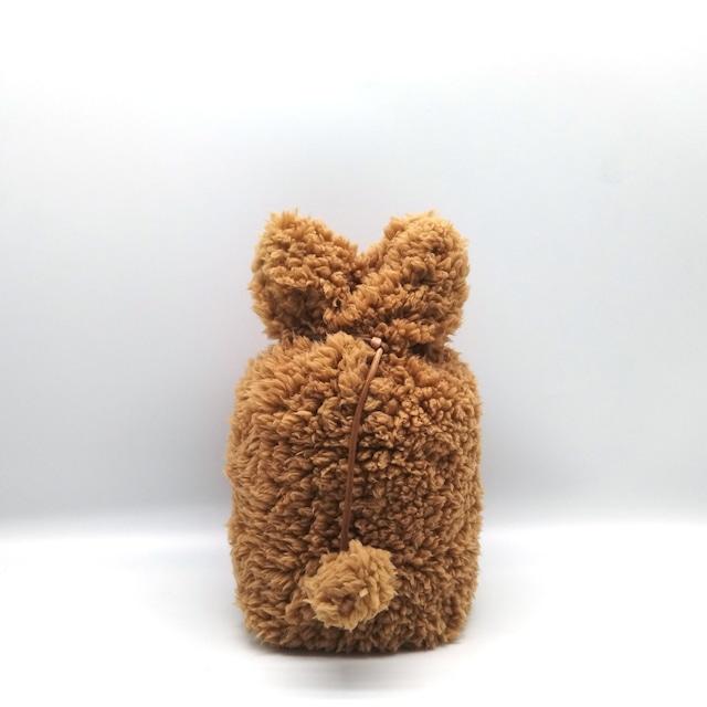 ふわもこカバー【選べる4色】小型犬・猫サイズ 3・ 3.5・4寸用