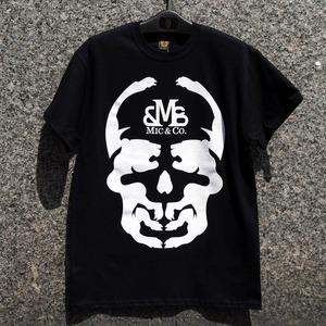 ビッグ スカル Tシャツ ブラック:MIC&Co. ミック アンド コー