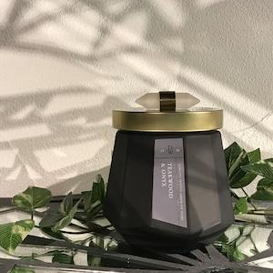 【DW Home Candles】TEAKWOOD & ONYX【アロマキャンドル】