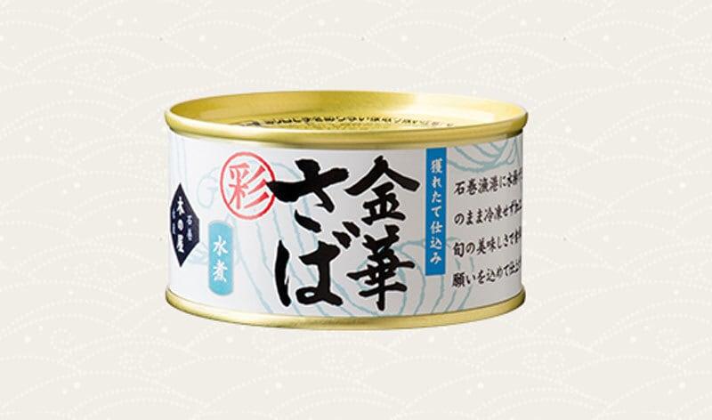 金華鯖 水煮缶 170g×24缶