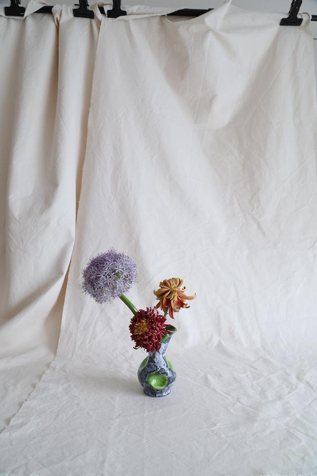 Vallauris Flower Vase-Neon Green