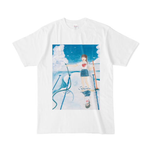 【税込・送料無料】広山楓デザインTシャツ「厚化粧」