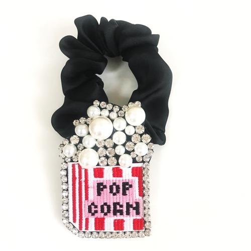 ブローチシュシュ popcorn