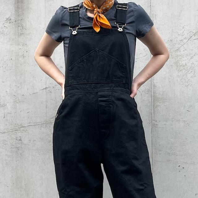 CHANEL シャネル ロゴ×カメリア柄 ミニスカーフ オレンジ【Used&Vintage】