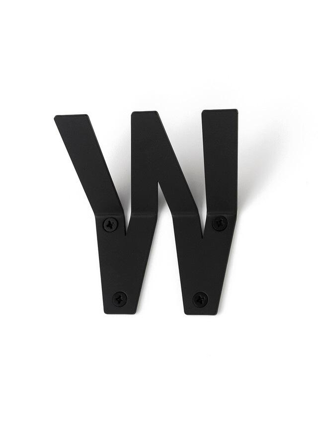 LETTER HOOK  W フック 壁掛け サイン 英文字 アルファベット