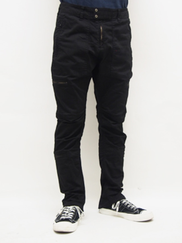 EGO TRIPPING (エゴトリッピング) PARACHUTE TROUSERS / BLACK   623302-05