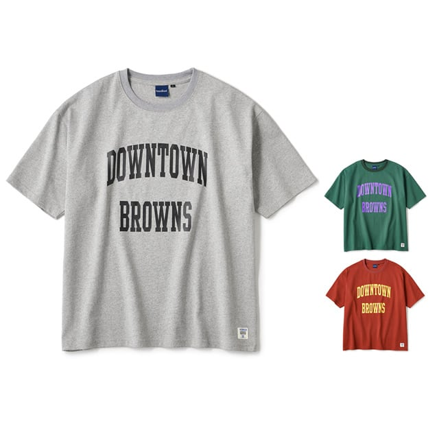 INTERBREED|BROWNS College SS Tee