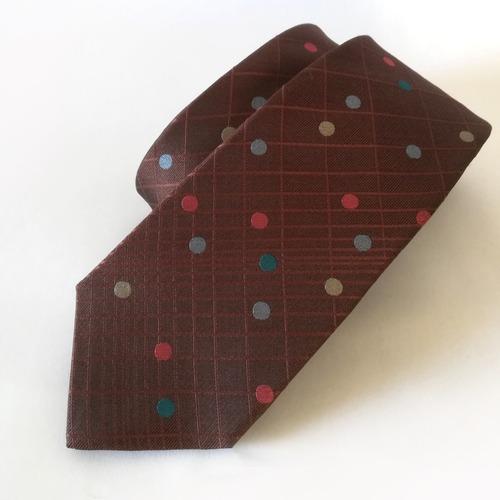 キャンディドットのネクタイ Candy Dots tie -0027