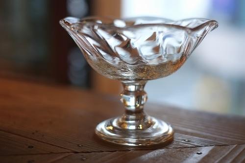【倉敷ガラス・小谷栄次】◆◆◆デザートグラス◆◆◆透明◆◆◆