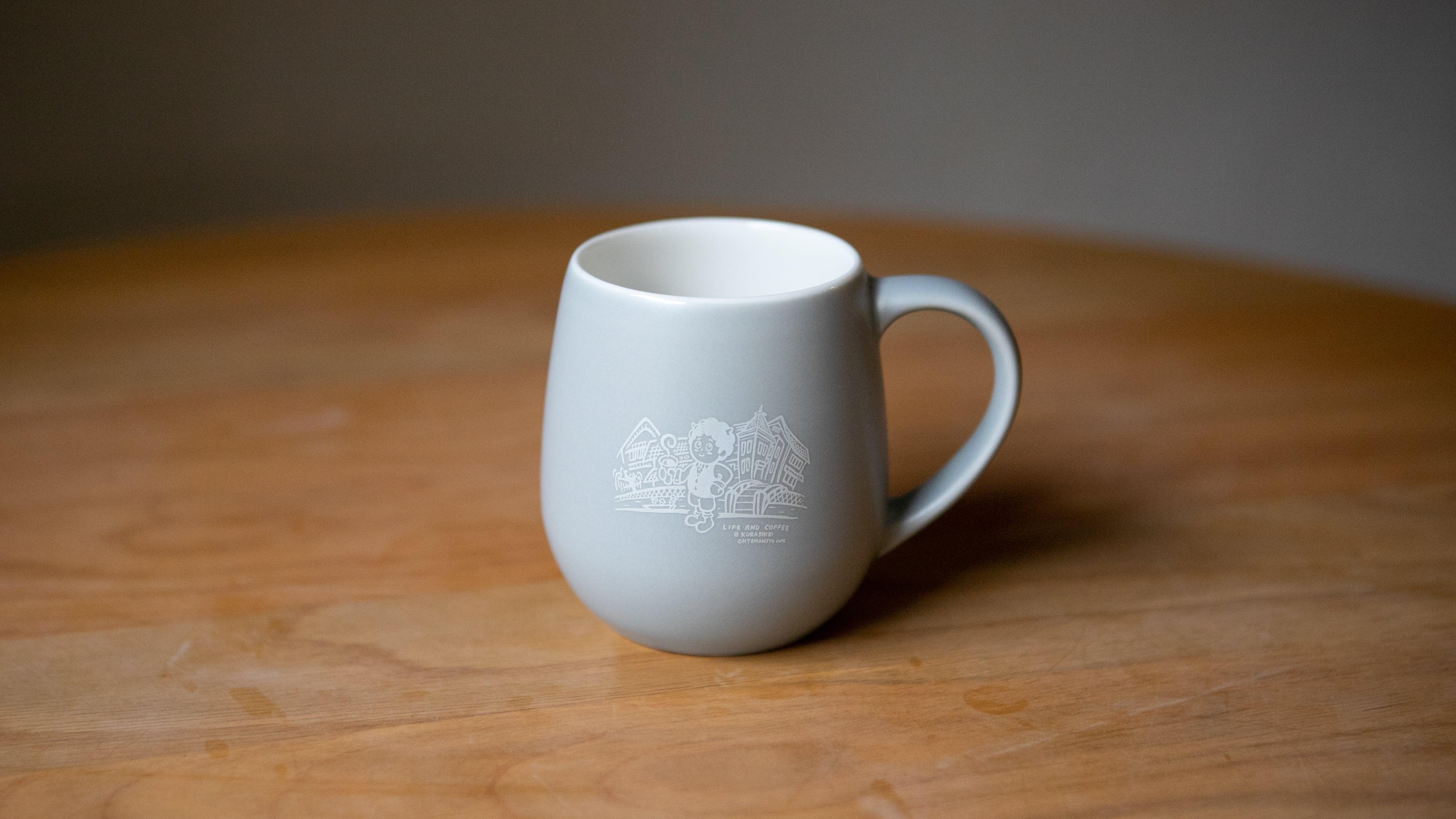 鬼ちゃんのマグカップ【マットグレー】※10/1(金)19時30分頃より販売開始となります。