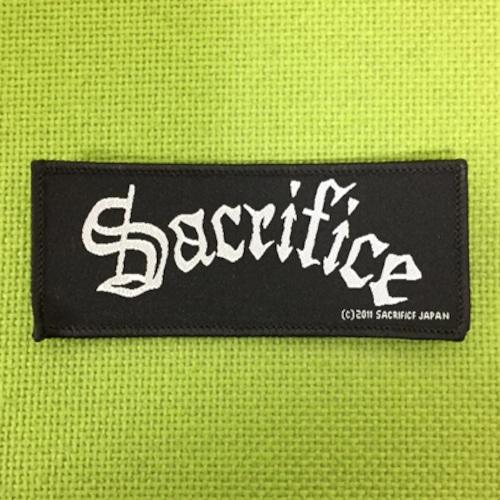 SACRIFICE ロゴ刺繍パッチ