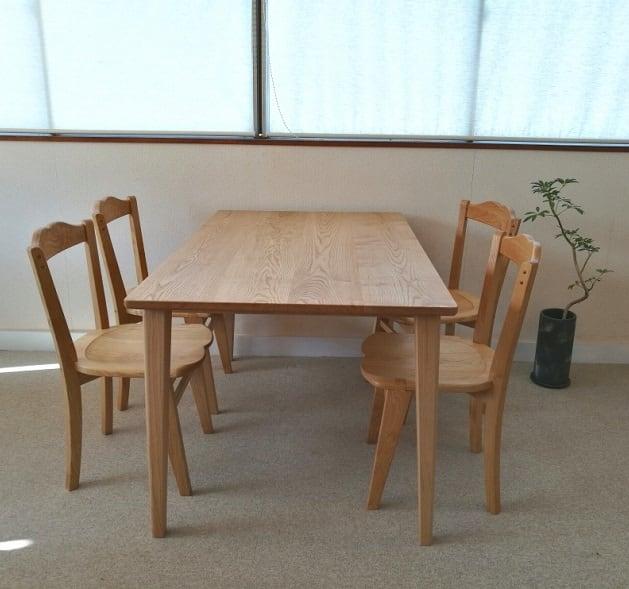 comテーブル&ハートチェアセット