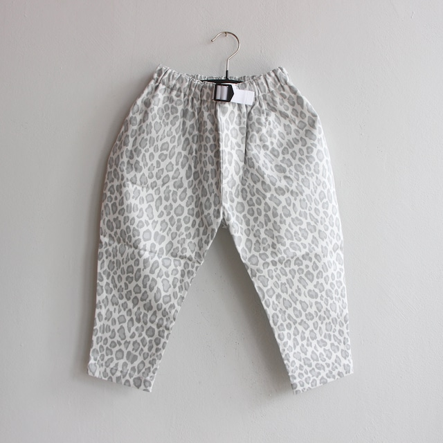 《eLfinFolk 2021AW》Snow leopard  pants / white / 80-130cm