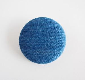 うしじま縫製   武州正藍染 バッジ