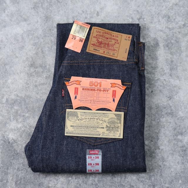 """【Dead Stock】 90年代 USA製 """" Levi's """" リーバイス 501 W29L36 リジット フラッシャー付き"""