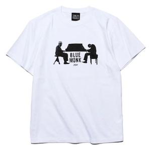 strush wheel / Tee Shirts / Blue Monk / Art by Guru Kato /  white / 5.6oz / XL