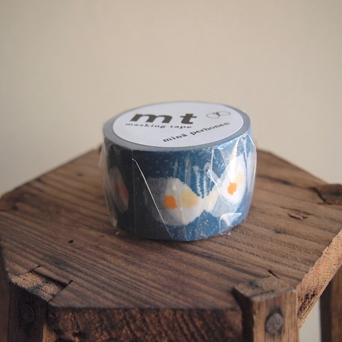 【mina perhonen】マスキングテープ「hana hane・blue」
