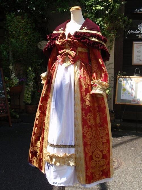 ヴェルサイユバロックドレス コンプリートセット
