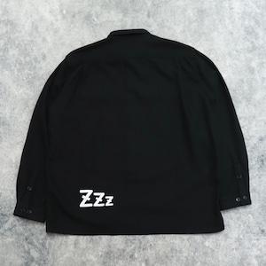 """【SANSE SANSE】""""neru shirt"""" (BLACK) サンセサンセ ネルシャツ"""