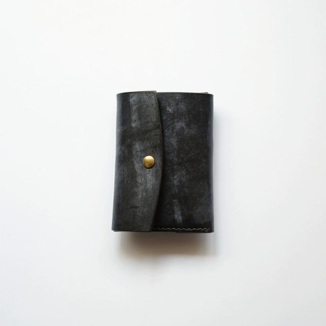 limited  tri-fold wallet - ブライドル -  bridle leather - br