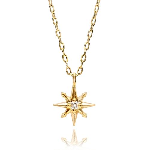 K10 SunMotif Necklace