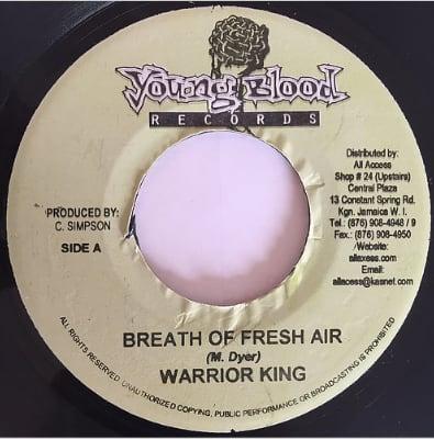Warrior King(ウォリアーキング) - Beath Of Fresh Air