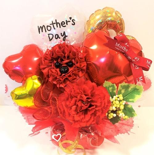 【母の日ギフト】mother's day アレンジ (red)