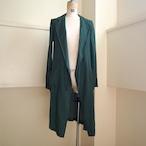【hippiness】cupro coat(123green) /【ヒッピネス】キュプラコート(123グリーン)