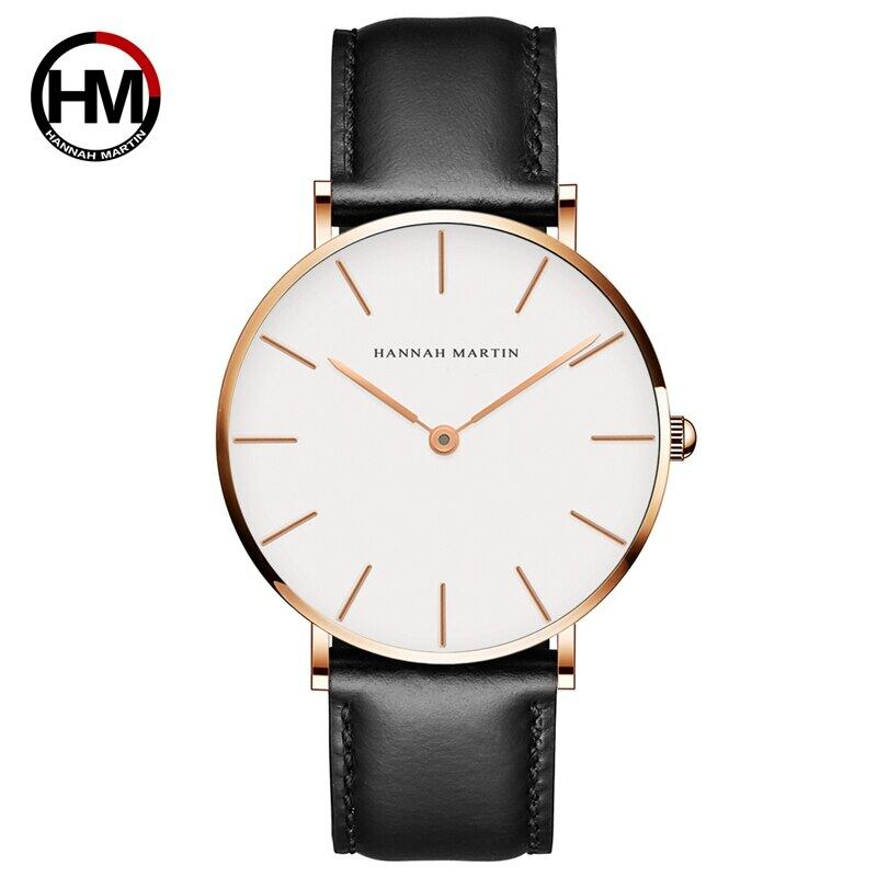 女性のファッション時計因果革ストラップ日本クォーツムーブメントトップ高級ブランド腕時計防水relogiofemininoCB01-FH