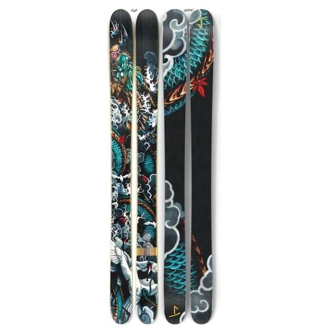 【予約】J skis - フレンド「ストーム」José Rodriguez III x Jコラボ限定版スキー【特典付き】