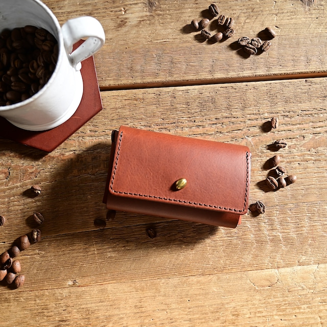 coffee beans card case